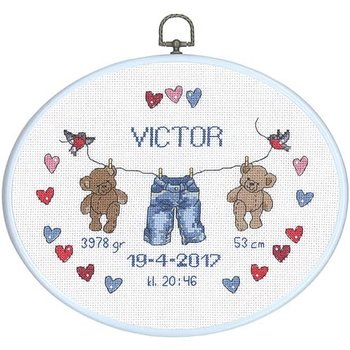 """Doptavla 20x26 cm """"Victor"""""""
