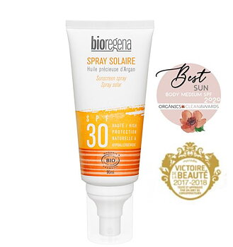 Bioregena Sunscreen spray SPF30 Face & body 90ml