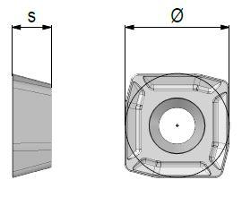 Avantec-skär UD1204.002.01 SKY77