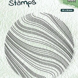 "Texture clear stamps ""Waves"""