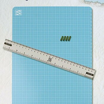 Magnetic Ruler set A4 (Mat+ruler+magnets)