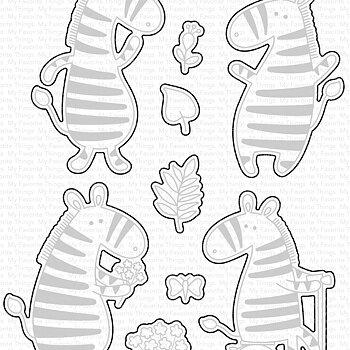 Zippy Zebras - Dies