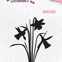 "Silhouet clear stamps ""Daffodil"""