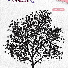 "Silhouet clear stamps ""tree"""