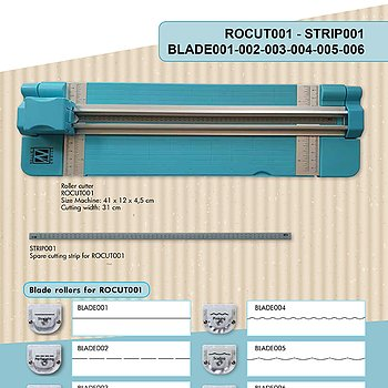 "Blade for ROCUT001 Roller cutter ""scallop"""