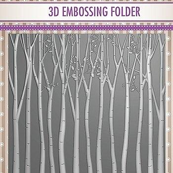 """3D Embossing folder """"Trees"""""""