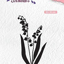 "Silhouet clear stamps ""Lily of the valley"""