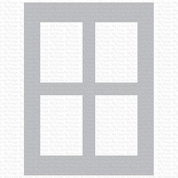 Window Panes Stencil