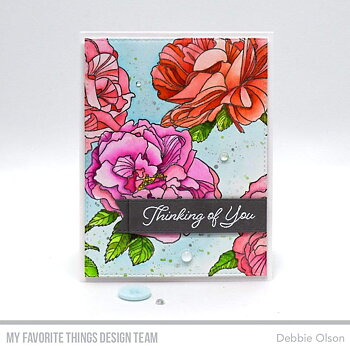 Fanciful Roses Background