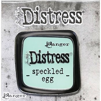 Distress Enamel Collector Pin -  Speckled Egg