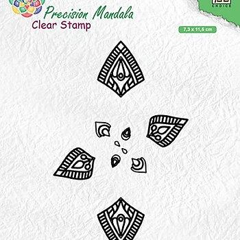 "Precision Mandala clear stamps ""Mandala-1"""