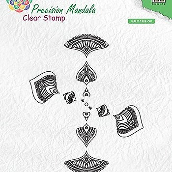 "Precision Mandala clear stamps ""Mandala-2"""