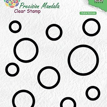 "Precision Mandala clear stamps ""Circles"""