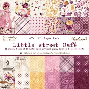 Little street café - Paper Pack 6x6