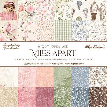 Miles Apart - Paper Pack 6x6