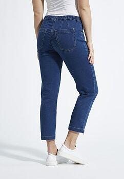 Piper Jeans Regular Crop 43515 Light Denim
