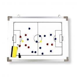 Taktiktavla Whiteboard Fotboll, 45 x 30 cm