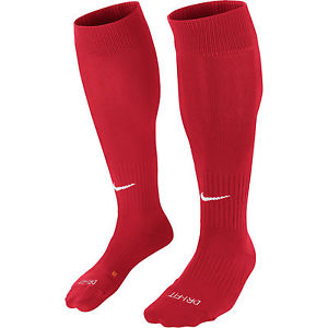 Fotbollsstrumpa Nike Classic 2, röd- REA
