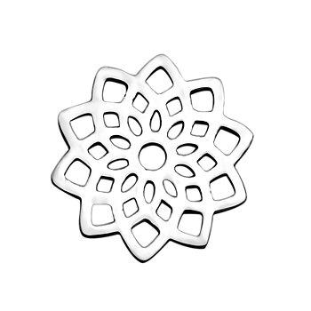 Connector stiliserad lotus i stål
