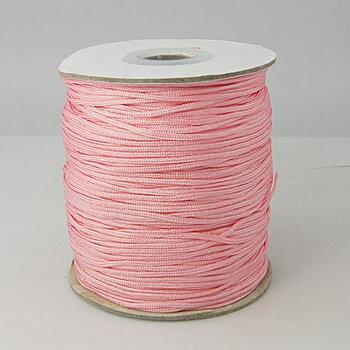 Knytsnöre 1,5mm rosa 10meter