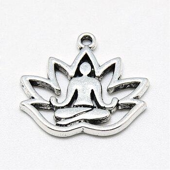 Yoga berlock med lotus 10st