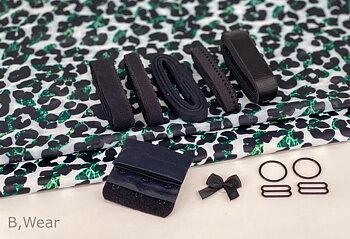Jade - Leopard bra kit