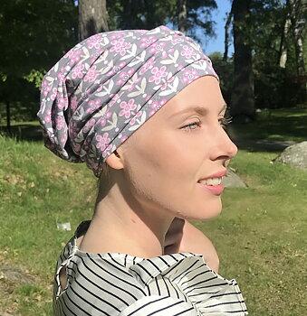 aBonnetta grå/rosa