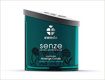 Swede Soothing Massage Candle - Spearmint Rose Orange 150 ml