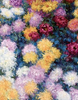 MONET - CHRYSANTHEMES
