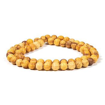 Palo Santo necklace elastic -- 0.8 cm