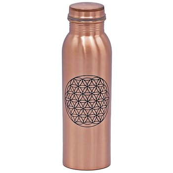 Copper Bottle Livets blomma printed