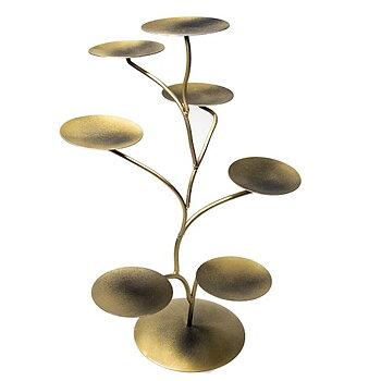 Display till Lotusblommor brons