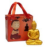Meditation Buddha in gift bag