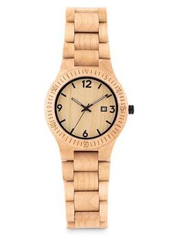 Armbandsur i naturligt trä