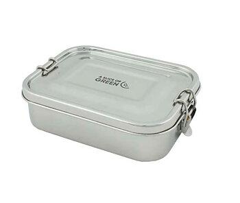Ruokalaatikko ruostumaton teräs ilmativiis kansi 675ml
