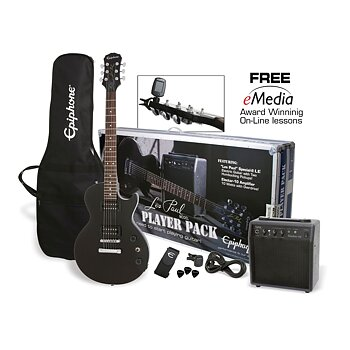 Epiphone Les Paul Player Pack CF Ebony