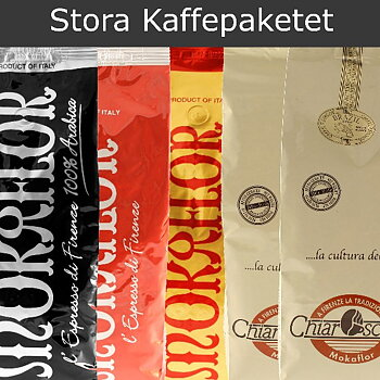 Large Coffee Package, 5x1000 gram