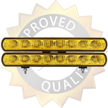 LUXTAR® LEDBAR Duo 80 Yellow