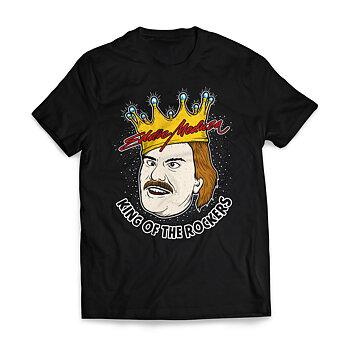 EDDIE MEDUZA - T-SHIRT, KING OF THE ROCKERS