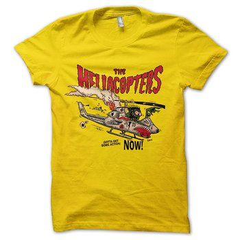 HELLACOPTERS - T-SHIRT, GOTTA GET SOME ACTION