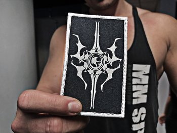 THE UNGUIDED - PATCH, CREST