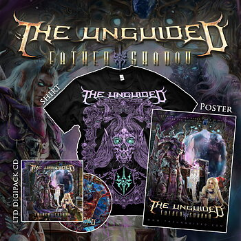 THE UNGUIDED - FATHER SHADOW - CD + T-SHIRT + POSTER BUNDLE