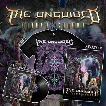 THE UNGUIDED - FATHER SHADOW - VINYL 2-LP + T-SHIRT + POSTER BUNDLE