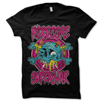 HARDCORE SUPERSTAR - T-SHIRT, HCSS SKULL
