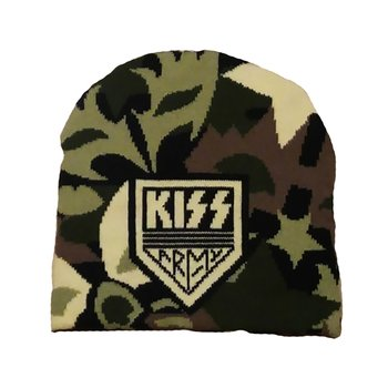 KISS - KNITTED SKI HAT, ARMY
