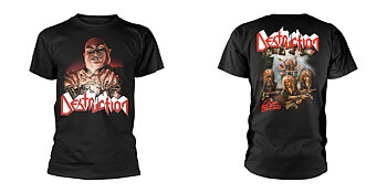 DESTRUCTION - T-SHIRT, LIVE WITHOUT SENSE (BLACK)