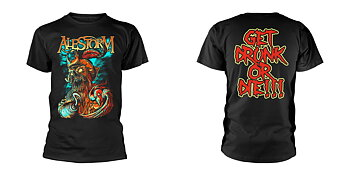 ALESTORM - T-SHIRT, GET DRUNK OR DIE