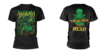 ALESTORM - T-SHIRT, TRENCHES AND MEAD