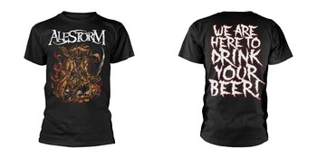ALESTORM - T-SHIRT, WE ARE HERE TO DRINK YOUR BEER!