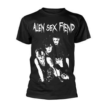 ALIEN SEX FIEND - T-SHIRT, BAND PHOTO